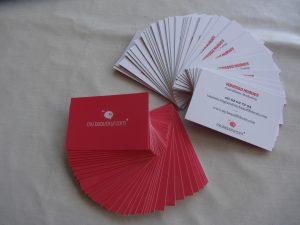 cartes de visite Vanessa Nugues